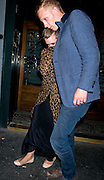 22.JUNE.2010. LONDON<br /> <br /> BILLIE PIPER AND LAURENCE FOX SEEN LEAVING THE GROUCHO CLUB, LONDON<br /> <br /> BYLINE: EDBIMAGEARCHIVE.CO.UK<br /> <br /> *THIS IMAGE IS STRICTLY FOR UK NEWSPAPERS AND MAGAZINES ONLY*<br /> *FOR WORLD WIDE SALES AND WEB USE PLEASE CONTACT EDBIMAGEARCHIVE - 0208 954 5968*