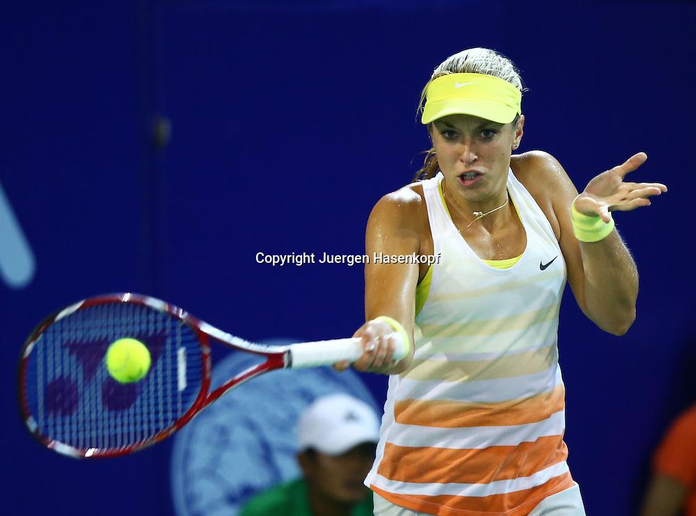 PTT Pattaya Open 2012,WTA Tennis Turnier,. International Series, Dusit Resort in Pattaya,.Thailand ,Sabine Lisicki (GER)),Aktion,.Einzelbild,Halbkoerper,Querformat,
