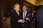 Prince and Princess Rupert Loewenstein, Shades of Grey', exhibition of new paintings and drawings by Emma Sergeant. 148 New Bond St. 1 November 2004. ONE TIME USE ONLY - DO NOT ARCHIVE  © Copyright Photograph by Dafydd Jones 66 Stockwell Park Rd. London SW9 0DA Tel 020 7733 0108 www.dafjones.com