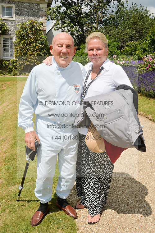 SIR STIRLING & LADY MOSS at the Cartier hosted Style et Lux at The Goodwood Festival of Speed at Goodwood House, West Sussex on 29th June 2014.