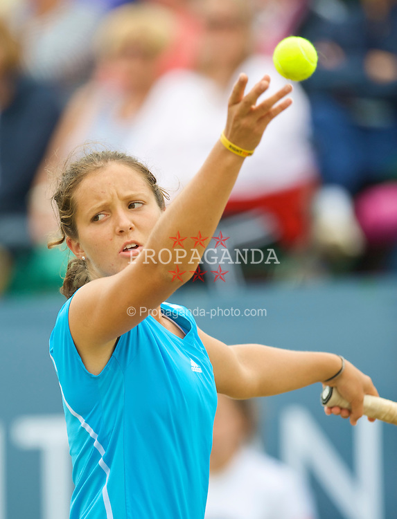 LIVERPOOL, ENGLAND - Saturday, June 20, 2009: 2009 Laura Robson (GBR) during the Women's Final at the Tradition ICAP Liverpool International Tennis Tournament at Calderstones Park. (Pic by David Rawcliffe/Propaganda)