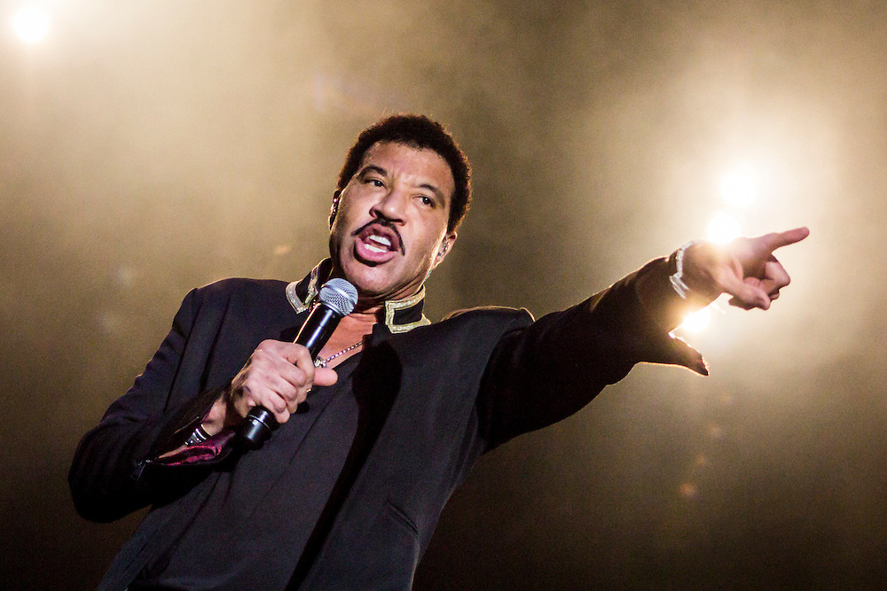 Lionel Richie live at Punchestown Racecourse