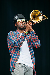The Soul Rebels perform at the 2014 Outside Lands Music and Art Festival - San Francisco, CA - 8/8/14