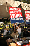 The 16th annual Labor Day Picnic sponsored by Pima Area Labor Federation draws labor unions and crowds to Reid Park bandshell in Tucson, Arizona, USA, on September 3, 2012.