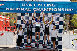 Men's Division 2 omnium winners Craig Leukens (Yale University), Chris Butler (Furman University), Zak Grabowski (Colorado School of Mines), Ben Showman (United States Military Academy), and Spencer Beamer (Furman University). Podium awards were given out after The 2008 USA Cycling Collegiate National Championships Criterium event held in Fort Collins, CO on May 11, 2008.