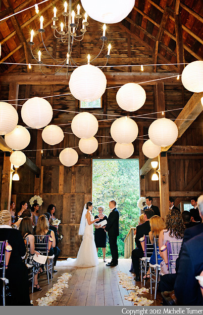 Maine Barn Wedding, a Barn on Walnut Hill Wedding.  Images by Maine Wedding Photographer Michelle Turner.