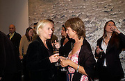 Mariella Frostrop and Sabrina Guinness, Timothy Taylor new gallery opening, Dering  St. 20 May 2003. © Copyright Photograph by Dafydd Jones 66 Stockwell Park Rd. London SW9 0DA Tel 020 7733 0108 www.dafjones.com