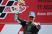 #12 Maverick Vinales, Spanish: Movistar Yamaha during the Motul Dutch TT MotoGP, TT Circuit, Assen, Netherlands on 30 June 2019.