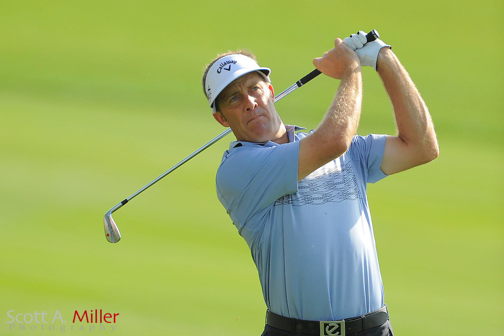 Stuart Appleby during the third round of the Honda Classic at PGA National on March 3, 2012 in Palm Beach Gardens, Fla. ..©2012 Scott A. Miller.
