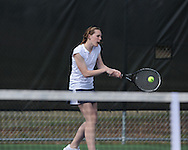 Oxford High's Mary Bryan Barksdale vs. Saltillo in tennis at Avent Park on Mondday, March 29, 2010 in Oxford, Miss.