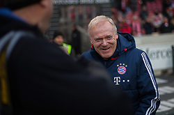December 16, 2017 - Stuttgart, Germany - Bayerns assistant coach Hermann Gerland watches his team warming up before  the German first division Bundesliga football match between VfB Stuttgart and Bayern Munich on December 16, 2017 in Stuttgart, Germany. (Credit Image: © Bartek Langer/NurPhoto via ZUMA Press)