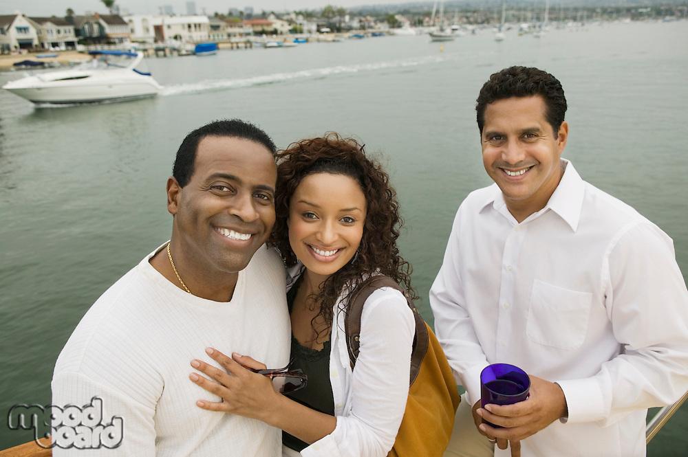 Friends on Boat