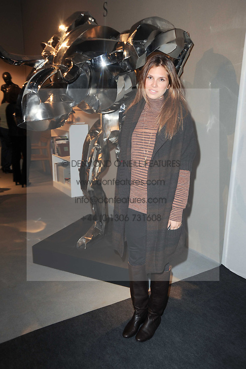 Private View of the Pavilion of Art & Design London 2010 held in Berkeley Square, London on 11th October 2010.<br /> Picture Shows:- DASHA ZHUKOVA