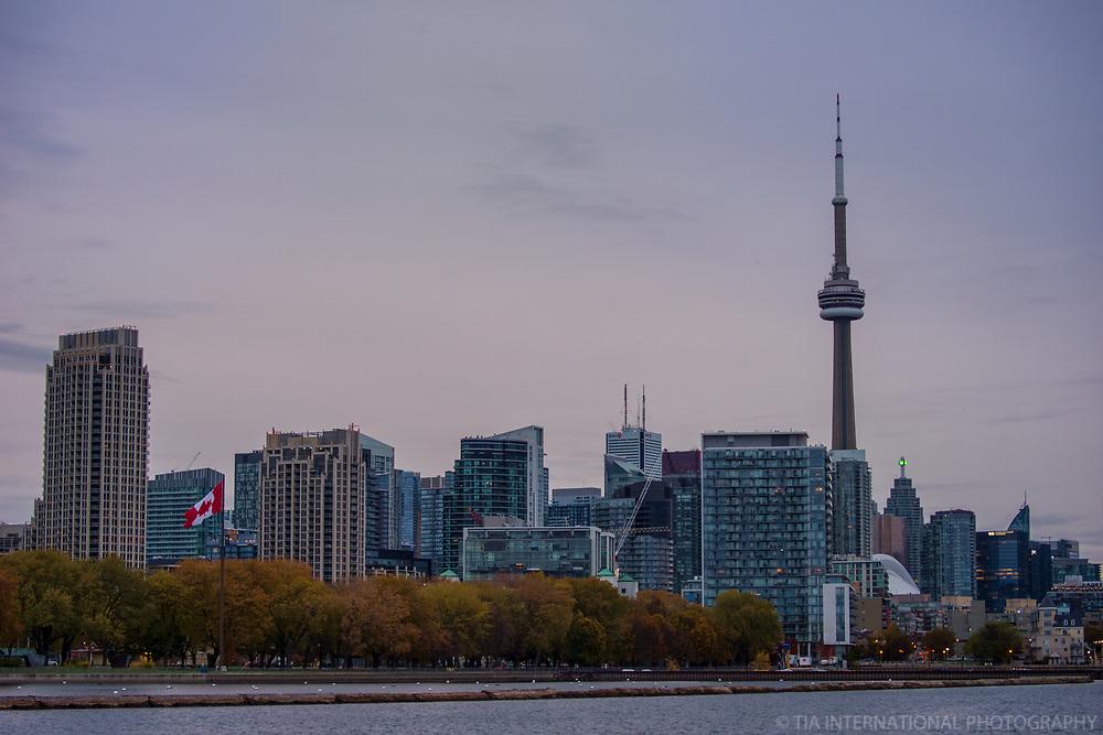 Coronation Park & Toronto Skyline