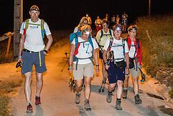 16-06-2017 NED: We hike to change diabetes day 6, Santiago de Compostela <br /> De laatste dag van Herrerias de Valcarce naar Santiago de Compastela. Lopen in het donker