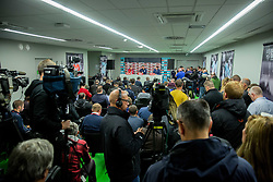 Wayne Rooney and Gareth Southgate, head coach during press conference of England 1 day before football match between National teams of Slovenia and England in Round #3 of FIFA World Cup Russia 2018 qualifications in Group F, on October 10, 2016 in SRC Stozice, Ljubljana, Slovenia. Photo by Vid Ponikvar / Sportida