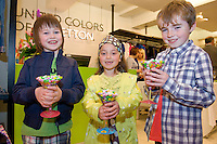 Performing Arts  school Galway members Adam O Connor, Amy Ciuche and David Kenny at the opening of United Colors of Benetton Store in Anthony Ryan's. Photo:Andrew Downes