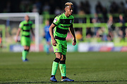 Forest Green Rovers Junior Mondal(25) during the EFL Sky Bet League 2 match between Forest Green Rovers and Milton Keynes Dons at the New Lawn, Forest Green, United Kingdom on 30 March 2019.