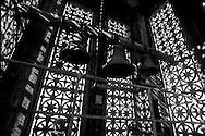 France. Paris. arabessues of light in  Saint Vincent de paul church  bell tower 75009