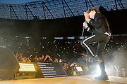 Premierenshow von Udo Lindenberg  in der HDI-Arena in Hannover am 10.July 2015. Foto: Rüdiger Knuth