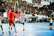 DESCRIZIONE : France Hand Coupe Afrique des Nations Homme Maroc Rabat<br /> GIOCATORE : Mgannem Haykel<br /> SQUADRA : Tunisie<br /> EVENTO : FRANCE Hand CAN<br /> GARA : Maroc Tunisie<br /> DATA :19/01/2012<br /> CATEGORIA : Hand CAN<br /> SPORT : Handball<br /> AUTORE : JF Molliere <br /> Galleria : France Hand 2011-2012 Action<br /> Fotonotizia : CAN Hand RABAT Maroc Demi Finale<br /> Predefinita :