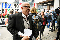© Licensed to London News Pictures. 04/09/2018. London, UK. JIM KENNEDY of UNITE union arrives at Labour Party headquarters in London to attend a National Executive Committee meeting. The Labour Party's ruling body is expected to vote on whether to adopt, in full, the IHRA (International Holocaust Remembrance Alliance) definition of anti-Semitism. Photo credit: Ben Cawthra/LNP