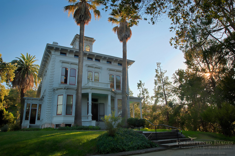 Italianate Victorian mansion home of John Muir, John Muir National Historic Site, Martinez, California