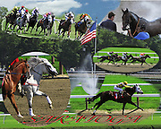 A summer's day at the races, Saratoga, N.Y.