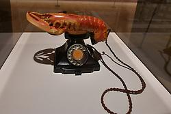 Lobster Telephone, Salvador Dali, Scottish National Gallery of Modern Art  (Modern One) Surreal Encounters Collection, Edinburgh, 2nd June 2016, <br /> (c) Brian Anderson   Edinburgh Elite media