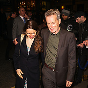 Cath Mason, Frank Skinner attends 'Who's Afraid of Virginia Woolf' play press night on 9th Mrach 2017 at the Harold Pinter Theatre, London,UK. by See Li