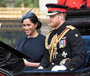 Meghan Markle & Cambridges At Trooping Colour