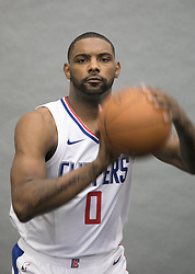 September 25, 2017 - Los Angeles, California, U.S - Sindarius Thornwell #0 of the L.A. Clippers during Media Day on Monday September 25, 2017 at the L.A. Clippers training facility in Los Angeles, California. (Credit Image: © Prensa Internacional via ZUMA Wire)