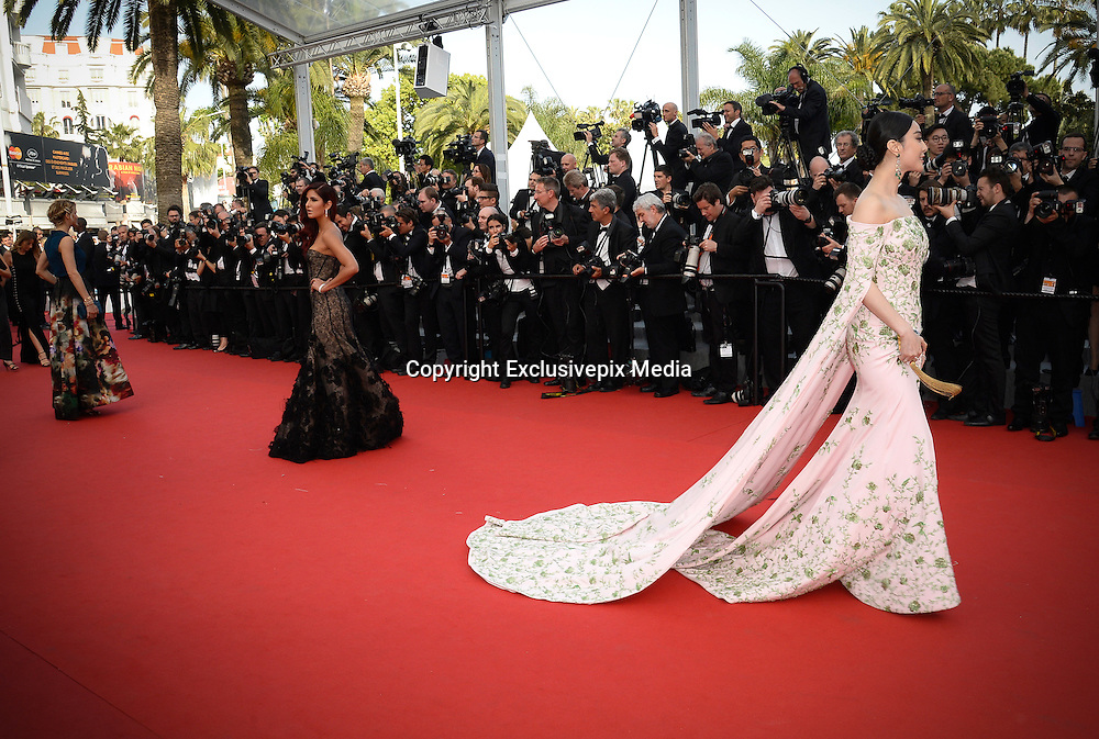FAN BINGBING  - OPENING THE 68th CANNES FILM FESTIVAL - RED CARPET ' HIGH HEAD '<br /> &copy;Exclusivepix Media