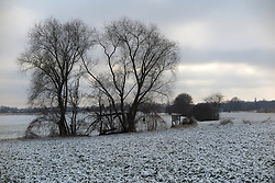 GERMANY BERLIN 27DEC14 - Snowy landscape on the outskirts of Berlin.<br /> <br /> jre/Photo by Jiri Rezac<br /> <br /> © Jiri Rezac 2014