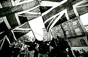 National Front members at the Cenotaph Remebrance Sunday London UK 1991