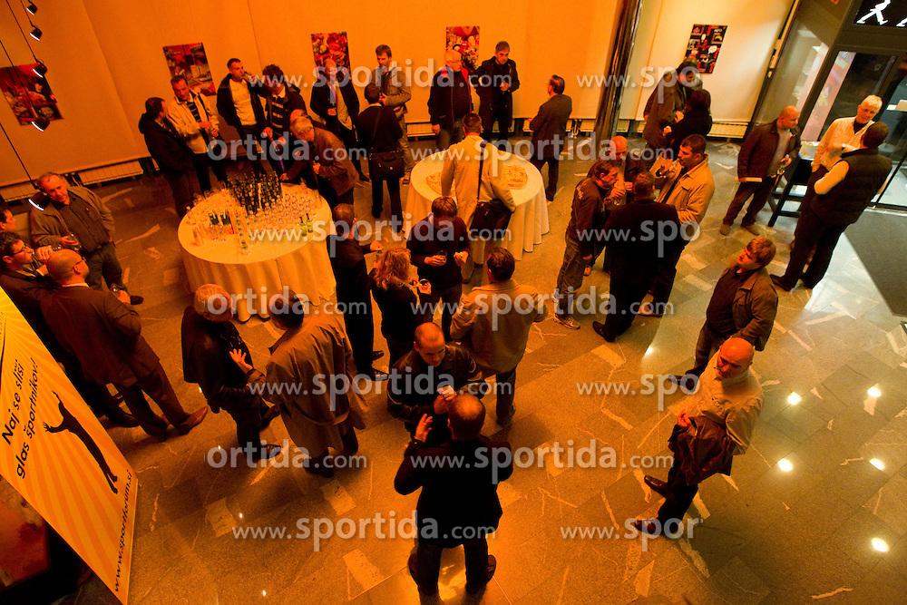 Okrogla miza o krizi slovenskega rokometa danes, 26. oktober 2010, kongresna dvorana Mercurius, BTC City, Ljubljana, Slovenija. (Photo by Vid Ponikvar / Sportida)
