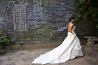 Chine, Shanghai, jour de mariage (model released)//  China, Shanghai, wedding day (MR available)