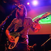 "WASHINGTON, DC - February 14th  2013 - Kevin Parker of Tame Impala performs at the 9:30 Club in Washington, D.C.  The band's sophomore album, ""Lonerism,"" was released in October of 2012 and won numerous album of the year awards across the globe, including NME, Rolling Stone and Australia's Triple J radio. (Photo by Kyle Gustafson/For The Washington Post)"