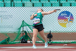 Niamh McCarthy, IRE competing in the F41 Discus at the Berlin 2018 World Para Athletics European Championships