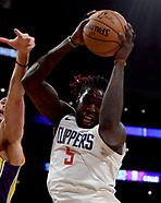 LA Clippers v LA Lakers - 29 December 2017