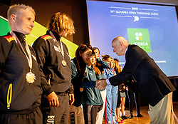 Matija Krnc during Closing ceremony at Day 4 of 16th Slovenia Open - Thermana Lasko 2019 Table Tennis for the Disabled, on May 11, 2019, in Thermana Lasko, Lasko, Slovenia. Photo by Vid Ponikvar / Sportida