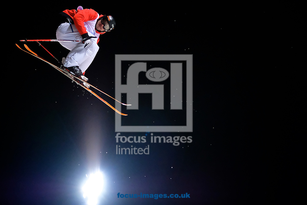 Benoit Valentin (FRA) during the Men's Half Pipe Final on Day Eleven of the FIS Freestyle Ski &amp; Snowboard World Championships 2017 at Sierra Nevada Ski Station, Granada<br /> Picture by Kristian Kane/Focus Images Ltd +44 7814 482222<br /> 18/03/2017