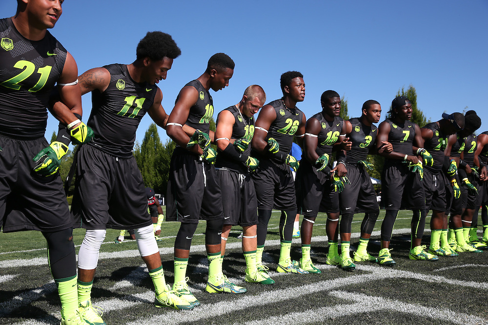 The Field Generals at The Opening on July 3, 2013 at the Nike World Headquarters  in Portland, Oregon.