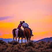 Watching the Sunset, Jake & Stephanie Patterson, Gooding, Idaho