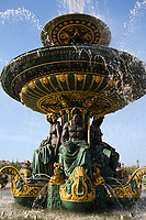place de la concorde in the beautiful city of paris france