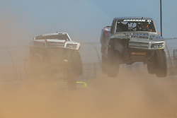 June 9, 2018 - Fort Worth, Texas, U.S - Super Trucks in action before the DXC Technology 600 race at Texas Motor Speedway in Fort Worth,Texas. (Credit Image: © Dan Wozniak via ZUMA Wire)