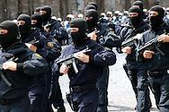 Rome  June 2  2006..Republic Day..GIS  march during the military parade.Special Intervention Group  of the Carabinieri.<br /> GIS<br /> Gruppo di Intervento Speciale dei Carabinieri