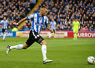 Jack Hunt of Sheffield Wednesday during the Sky Bet Championship Playoff Semi Final First Leg at Hillsborough, Sheffield<br /> Picture by Richard Land/Focus Images Ltd +44 7713 507003<br /> 13/05/2016
