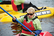 27th Amphicat row in aid of the Irish Guide Dogs for the Blind was held on the river corrib Photo:Andrew Downes, xposure .