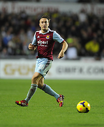 West Ham United's Mark Noble - Photo mandatory by-line: Joe Meredith/JMP - Tel: Mobile: 07966 386802 27/10/2013 - SPORT - FOOTBALL - Liberty Stadium - Swansea - Swansea City v West Ham United - Barclays Premier League